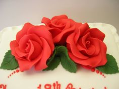 flower design from our #cake decorating classes southport