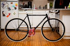 Jamis single speed #fixie #fixed #bicycle