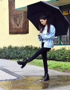 Rainy days & Saturdays always get me __________.   You fill in the blank ☔️   Victoria Justice (@VictoriaJustice) | Twitter