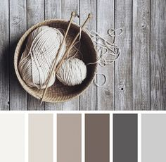 Explore Design Seeds color palettes by collection. Paint Schemes, Colour Schemes, Color Combos, Colour Palettes, Color Palette Gray, Rustic Color Schemes, Basement Color Schemes, Rustic Color Palettes, Color Tones