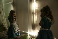 Alice and the looking Glass....