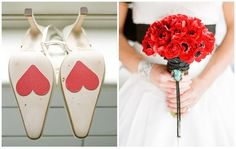 Inspiración: Bodas con detalles rojos | Preparar tu boda es facilisimo.com