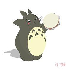 Australian graphic designer CL Terry, presented us Totoro, heroe of the Hayao Miyazaki's masterpiece, My Neighbor Totoro, making fitness fitness. In new GIFs Hayao Miyazaki, Gif Totoro, Walking Gif, Manga Anime, Gif Dance, Ghibli Movies, My Neighbor Totoro, Animation, Cute Gif