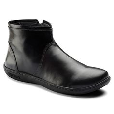 78506be08694 Bennington Natural Leather Black Comfy Shoes