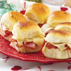 Hawaiian Ham Sandwiches | MyRecipes.com