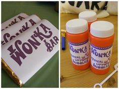 Vintage Follie: Charlie and the Chocolate Factory Party