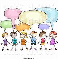 Image result for children stick figures