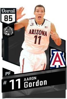 9c2ae3a59a7  14 Aaron Gordon (85) MyTEAM Onyx Card Basketball Cards