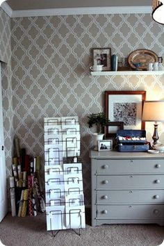 painted wallpaper {a tutorial} | jones design company