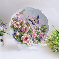Online Toptan Alım yapın Porselen dekoratif tabaklar Çin'den ...