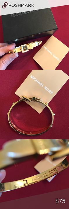 Michael Kors Buckle Bracelet Brand new in box, never used. Comes with dust bag and box. Michael Kors Jewelry Bracelets