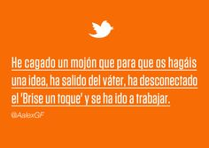 #miscelanea #yhlc #yhlcqvnl #twitter #color #humor #cartela #tipografia #naranja