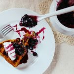 Gluten-Free, Dairy-Free Waffles with Warm Mixed Berry Compote