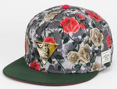 Acid Roses Snapback Cap by CAYLER & SONS