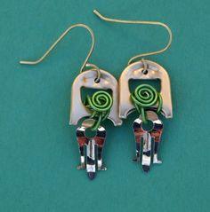 Soda Tab Earrings