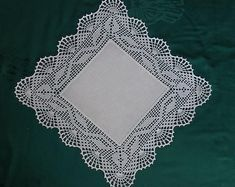 Crochet bedspread pattern - Hardanger crochet patchwork cover with delicate floral ornaments – Crochet bedspread pattern Crochet Bedspread Pattern, Crochet Lace Edging, Crochet Borders, Cotton Crochet, Crochet Doilies, Hand Crochet, Crochet Patterns, Doily Patterns, Dress Patterns