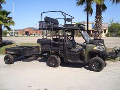 Hunting Conversions Hunting Truck, Texas Hunting, Quail Hunting, Hunting Trailer, Hunting Stuff, Motorcycle Camping, Camping Gear, Motocross Outfits, Polaris Off Road