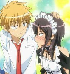 Misaki ayuzawa and takumi usui is listed (or ranked) 1 on Maid Sama Manga, Anime Maid, Anime Love, Anime Guys, Manga Anime, Noragami Anime, Manga Girl, Usui, Kaichou Wa Maid Sama