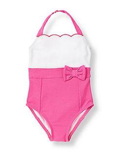 Janie & Jack Girl's Swimsuit