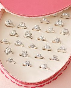 Imagine being proposed to with this and then being told to pick one... a girls dream come true. holy crap..