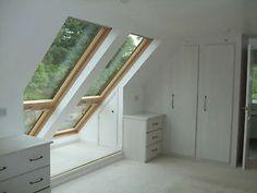 Velux cabrio window/balcony for loft