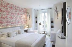 Hôtel de Banville, Paris proche Champs Elysées - Chambre Supérieure : Joséphine