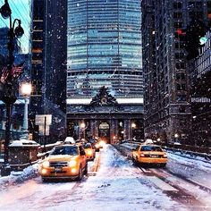 NYC is so beautiful in the snow