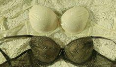 Two unbranded push up padded 36C cushy soft padding lace look  #Unbranded #FullCoverageBras