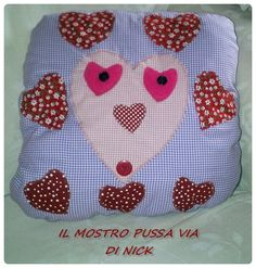 pussa via, mostro a cuscino di Nick Pot Holders, Lunch Box, Hot Pads, Potholders, Planters