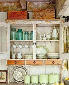 Kitchen hutch I want!