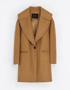 Manteau Zara - 60 manteaux d'hiver : trouvez le vôtre ! - Elle