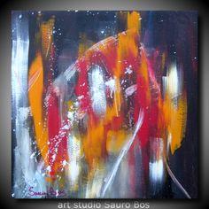 quadro astratto olio su tela 60x60 titolo elegante