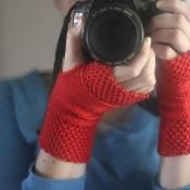 WORK+SHELTER Hand Warmers - via @Craftsy