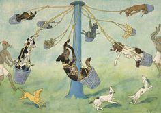 kultur-online : hundefest Ernst Kreidolf, 1928