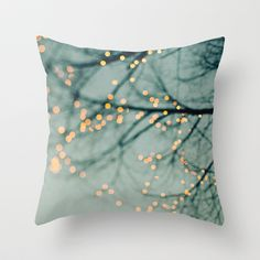 Lights  Throw Pillow by Laura Ruth  - $20.00