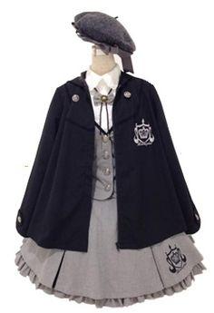I'm a detective now! Kawaii Fashion, Lolita Fashion, Mode Lolita, Lolita Cosplay, Kawaii Clothes, Cosplay Outfits, Character Outfits, Lolita Dress, Japanese Fashion
