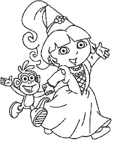Colouring Pages Princesses Free Printable