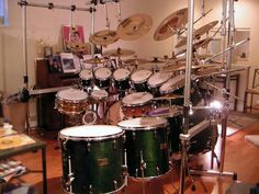 Percussionist's dream. Could be a really fun set to experiment with!!!