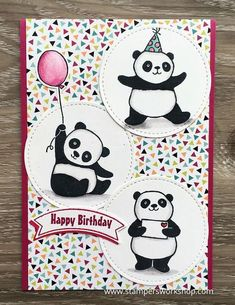 Happy Birthday (Party Pandas)