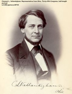 Clement Vallandigham was spokesman for the Copperheads, and he defined what anti-Civil War Democrats stood for: He despised Lincoln, the Republican Party, war and he despised abolition.https://www.amazon.com/Imperfect-Union-Georgiann-Baldino-ebook/dp/B015N5SC2O