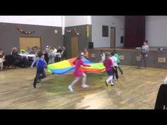 MŠ cvičení s padákem - YouTube Basketball Court, Education, School, Sports, Youtube, Games, Gymnastics, Hs Sports, Onderwijs