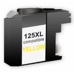 LC125Y XL  (LC123) INK CARTRIDGE