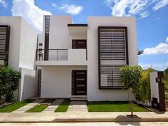 Our Top 10 Modern house designs – Modern Home Modern Exterior, Exterior Design, Home Window Grill Design, Modern Townhouse, Box Houses, House Elevation, Modern Farmhouse Style, Facade House, Home Design Plans