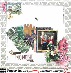 Paper Issues: Scraplift Sunday Week 2 Courtney Sawyer