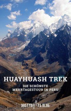 Huayhuash Trek - Mehrtagestour in Peru ohne Guide Weekend In New Orleans, Living In Europe, Ways To Travel, Ocean Beach, Staycation, Travel Bugs, Wanderlust Travel, Trekking, Day Trips