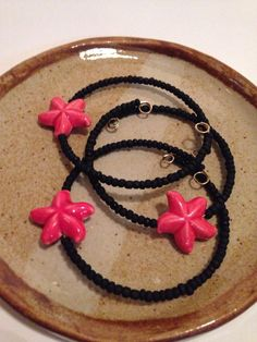 A personal favorite from my Etsy shop https://www.etsy.com/listing/230526176/red-and-black-starfish-beaded-bracelet