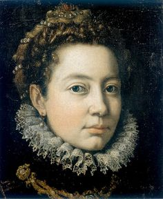 Italian Painter Sofonisba Anguissola: Self portrait (1560)