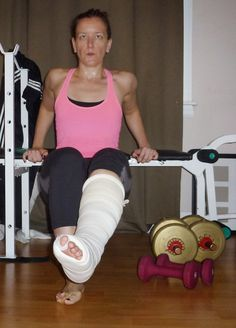French Bunion Soup: Be Empowered: My Non Weight-bearing Workout