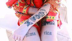 Rap, Tatoo, Creative Tattoos, Nice Tattoos, Stud Earrings, Creativity, Singers, Dibujo, Backgrounds