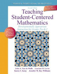 Ever wondered how you can math more hands-on for students?  This book has the answers!  A wonderful read on math instruction. Includes lessons and activities as well!